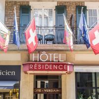 Hôtel Résidence Cité-Verdaine