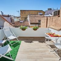 Ático duplex con terraza en puro centro, 2 a 8 pax
