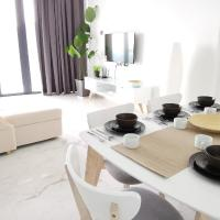 SEAVIEW ArteS 3BR Family, walk to USM, Washer, 8pax