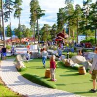 Leksand Strand Camping och Resort, hotell i Leksand