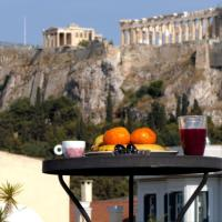 Happy place at the foot of Acropolis