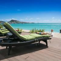 Vittoria - 6 Bedroom Villa in Simpson Bay directly on the beach!