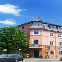 Hotel Rosenheimer Hof, отель в городе Траунштайн