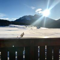Mansarda con vista sulle Dolomiti