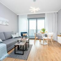 Seaside Beach 100m do Plaży - Hampton Apartments, hotel in Brzezno, Gdańsk