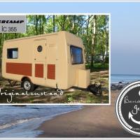DDR Luxus Wohnwagen direkt am Strand