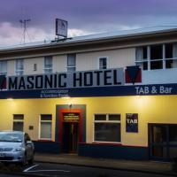 Masonic Hotel, hotel in Palmerston North