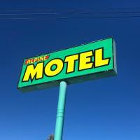 Alpine motel, hotel em Rocky Mountain House