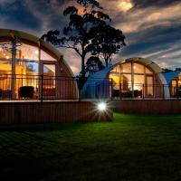 43 Degrees Bruny Island, hotel em Adventure Bay