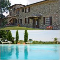 Villa Palazzo Bello con piscina e AC - Cetona, hotell i Cetona