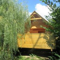 L'escapade - cabane dans cadre bucolique, hotel in Saint-Martin-des-Champs