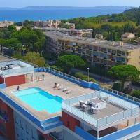 SELECT'soHOME Le BELLA VISTA, hotel in Bormes-les-Mimosas