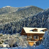 Vytina log house, hotel in Vitina