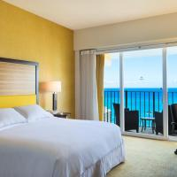 Hilton Waikiki Beach Hotel – (Resort Fee Waived for stays in 2020)