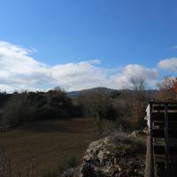 La terrazza sul vulcano
