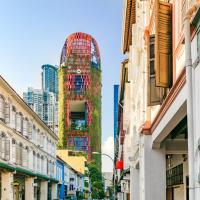 Oasia Hotel Downtown, Singapore by Far East Hospitality (SG Clean), Hotel in Singapur