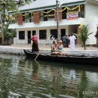 Royal Mundro Palace Home Stay, hotel in Munroe Island