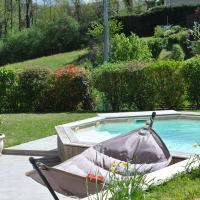 Maison avec piscine 8 couchages entre Annecy et Aix les bains