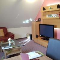 wunderschöne moderne Ferienwohnung im Hotel – hotel w mieście Oberthulba