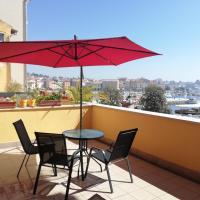 Center of Rovinj, sea view apartment