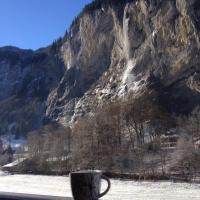 Eyhus 5 Lauterbrunnen 1Br opposite Staubbach waterfalls + parking