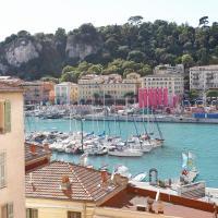Superbe appartement Vue Mer 4 personnes au Port de Nice