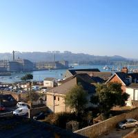 Pure B - Exceptional views of Tamar & Royal William Yard with Free Parking & Wifi