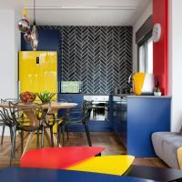 Colorful BNB apartment