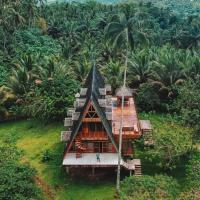 Camiguin Volcano Houses - A-Frame house, hotel in Mambajao