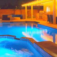 NEW! La Quinta Luxury Retreat - Saltwater Pool, Game Room, BBQ, Family Fun!