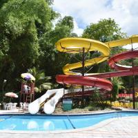 Flat no Golden Dolphin Grand Hotel Caldas Novas, hotel in Caldas Novas