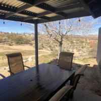 Joshua Tree remodeled house with open desert backyard