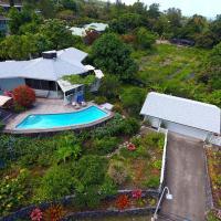 Dragonfly house - 3 bedroom home with private pool, hotel near Kona International Airport - KOA, Kailua-Kona