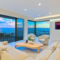 Malibu oceanfront beach villa