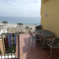 VD2A, Gran apartamento con vistas al mar sobre la muralla de Villajoyosa (VD2A)