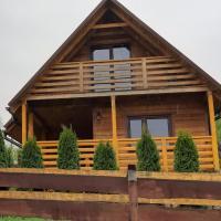 Domek z widokiem – hotel w mieście Olchowiec