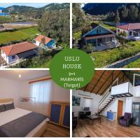 Uslu Home two bedrooms villa for Weekly rentals, hotel in Marmaris