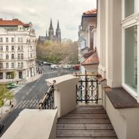 Elizabeth Suites, hotel en Vinohrady, Praga