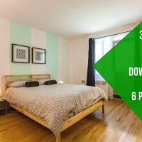 Ray 3 Bedroom Apartment Côte-des-Neiges 20 mins to Downtown