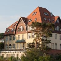 Strandvillen Heringsdorf, отель в Херингсдорфе