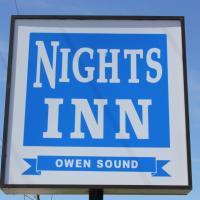Nights Inn Owen Sound, hotel in Owen Sound