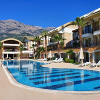 Дублекс апартаменты с 2 спальнями в 100м от моря Sultan Homes