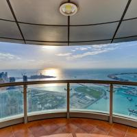 Luxurious 4-Bedroom 82nd High Floor Apartment with Full Sea & Skyline View