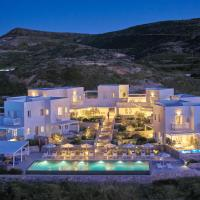 Milos Breeze Boutique Hotel, hotel in Pollonia