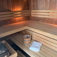Luxe appartement met sauna