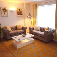 3 Bed Luxury Town Center Apartment with 50 inch 4K TV (Netflix & NowTV Ent. Pass)