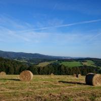 Stanování na farmě, místo pro váš stan či karavan