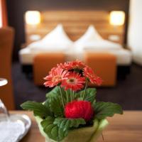 Hotel Hirsch, отель в городе Леонберг