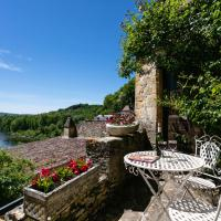 Magical view over Dordogne' s river in BEYNAC