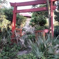 Jardin et bambous, studio cosy, classé